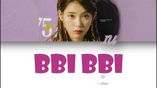 [1 시간 / 1 HOUR LOOP] IU(아이유) _ BBIBBI(삐삐) - Color Coded Lyrics