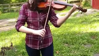 Gravity Falls Theme Song Violin Cover