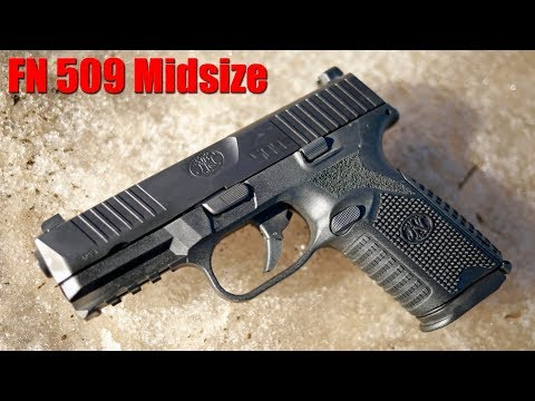 FN 509 Midsize Review: The Best 9mm Pistol Out Of The Box