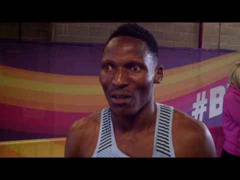 """Isaac Makwala: """"We want to take the 400 to Africa... It was an American race"""""""