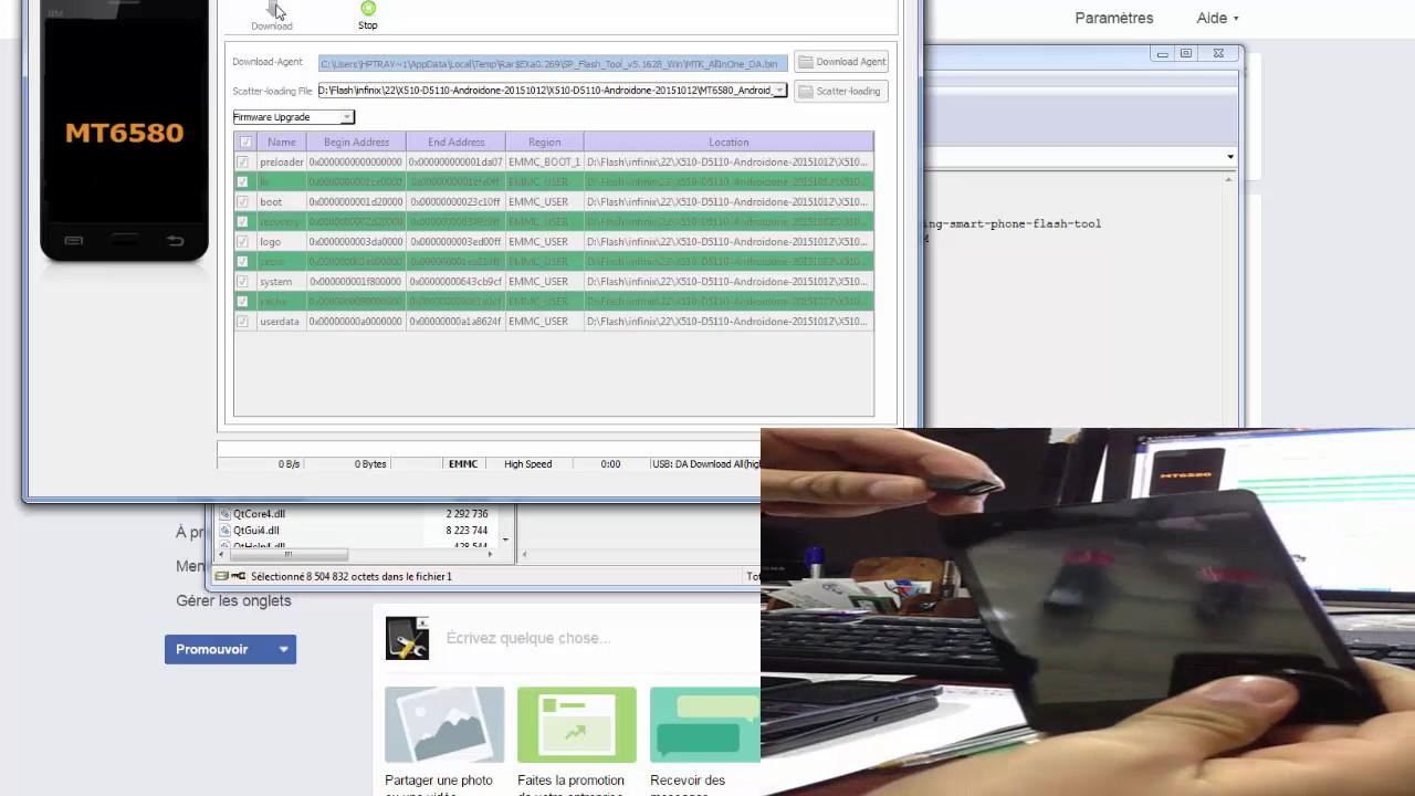 How To Flash Infinix Hot2 X510