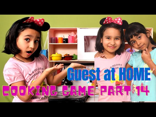 Cooking game in Hindi Part-14 | Guest At Home | Kitchen Set | LearnWithPari | #LearnWithPari