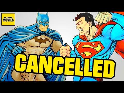 Cancelled BATMAN V SUPERMAN Original Script (Batman VS Superman 2004)