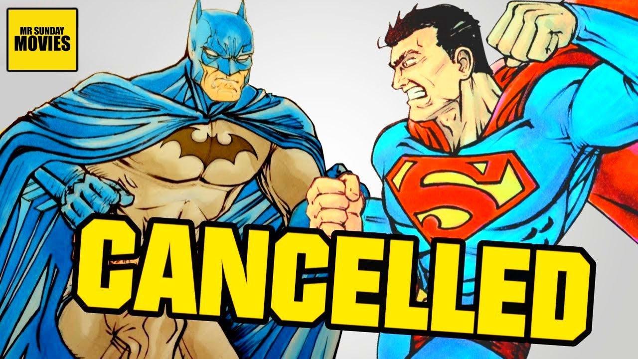 Cancelled BATMAN V SUPERMAN Original Script (Batman VS