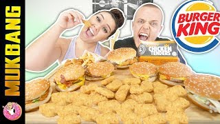 ENTIRE BURGER KING VALUE MENU MUKBANG | EATING SHOW