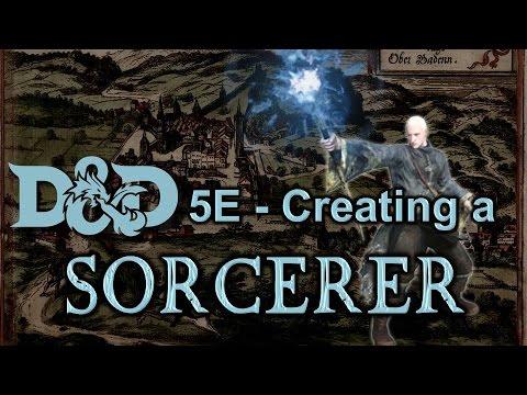 Creating a Sorcerer - D&D 5E
