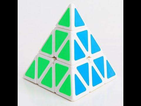 Лёгкий способ как собрать пирамидку (пираминкс).