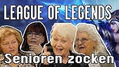 League of Legends - Senioren zocken!!! (Deutschlands älteste Gamer)
