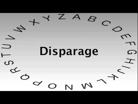 SAT Vocabulary Words And Definitions U2014 Disparage