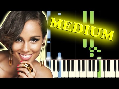 ALICIA KEYS  FALLIN  Piano Tutorial