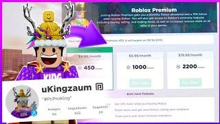 😱 WON the ROBLOX PREMIUM (it's amazing...)
