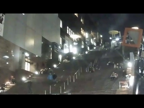 Kyoto Station's Grand Staircase Live Camera-京都駅ビル大階段前ライブカメラ
