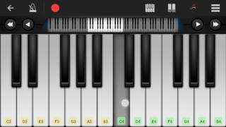 Khachar vitor Ochon Pakhi -Shunno(Perfect Piano)
