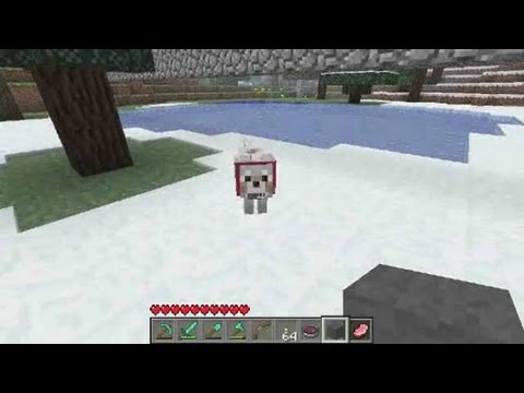 Minecraft Tutorial: How to Tame Minecraft Wolves