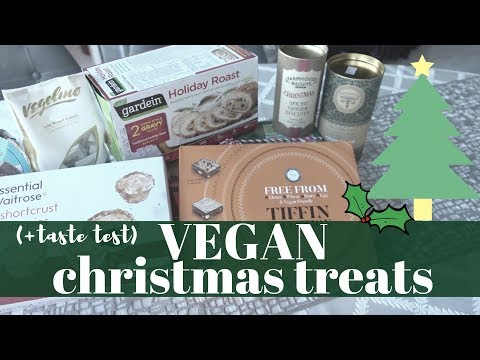 VEGAN CHRISTMAS TREATS + TASTE TEST | Holiday Roast, Mince Pies & More | Honest Review
