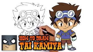 How to Draw Tai Kamiya | Digimon