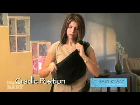 Cradle Position W K Tan Baby Carrier At Buybuy Baby Youtube