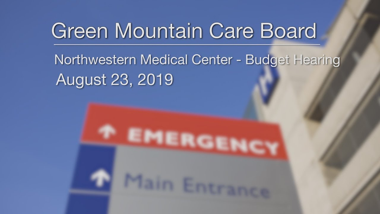 Northwestern Medical Center Budget Hearing 8/23/19 | Onion