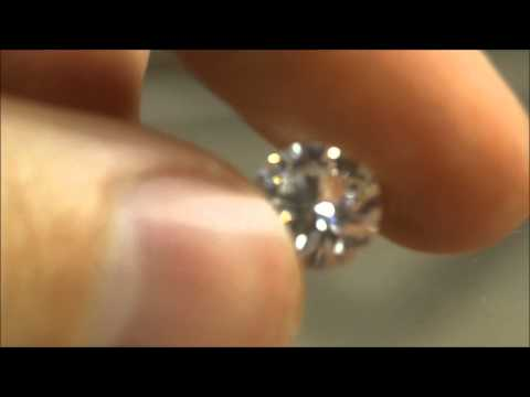 Cubic Zirconia Scratch Test