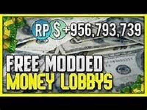 GTA 5 MONEY DROP & RP LOBBY! HOW TO GET IN FREE GTA MONEY LOBBIES (GTA MODS) GTA MODDING ACCOUNTS!