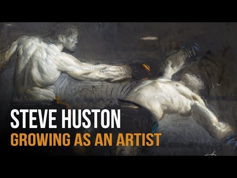 Growing as an Artist -  Steve Huston Interview