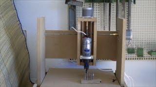 Como construir una fresadora CNC casera 3 ejes