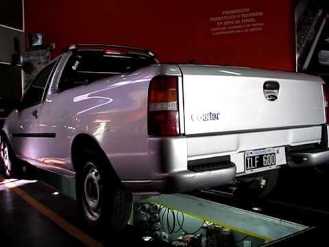 CañoSport - Ford Courier pick up con escape SilenPro