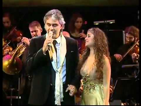 Andrea Bocelli And Liel  Ray of Hope