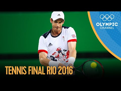 Murray v Del Potro - Men's Singles Tennis Final | Rio 2016 Replay