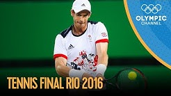 Murray v Del Potro - Men's Singles Tennis Final | Rio 2016 Replay