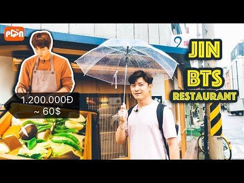 ĂN RAU LUỘC 1.200.000Đ TẠI NHÀ HÀNG CỦA JIN BTS | PanTV thumbnail
