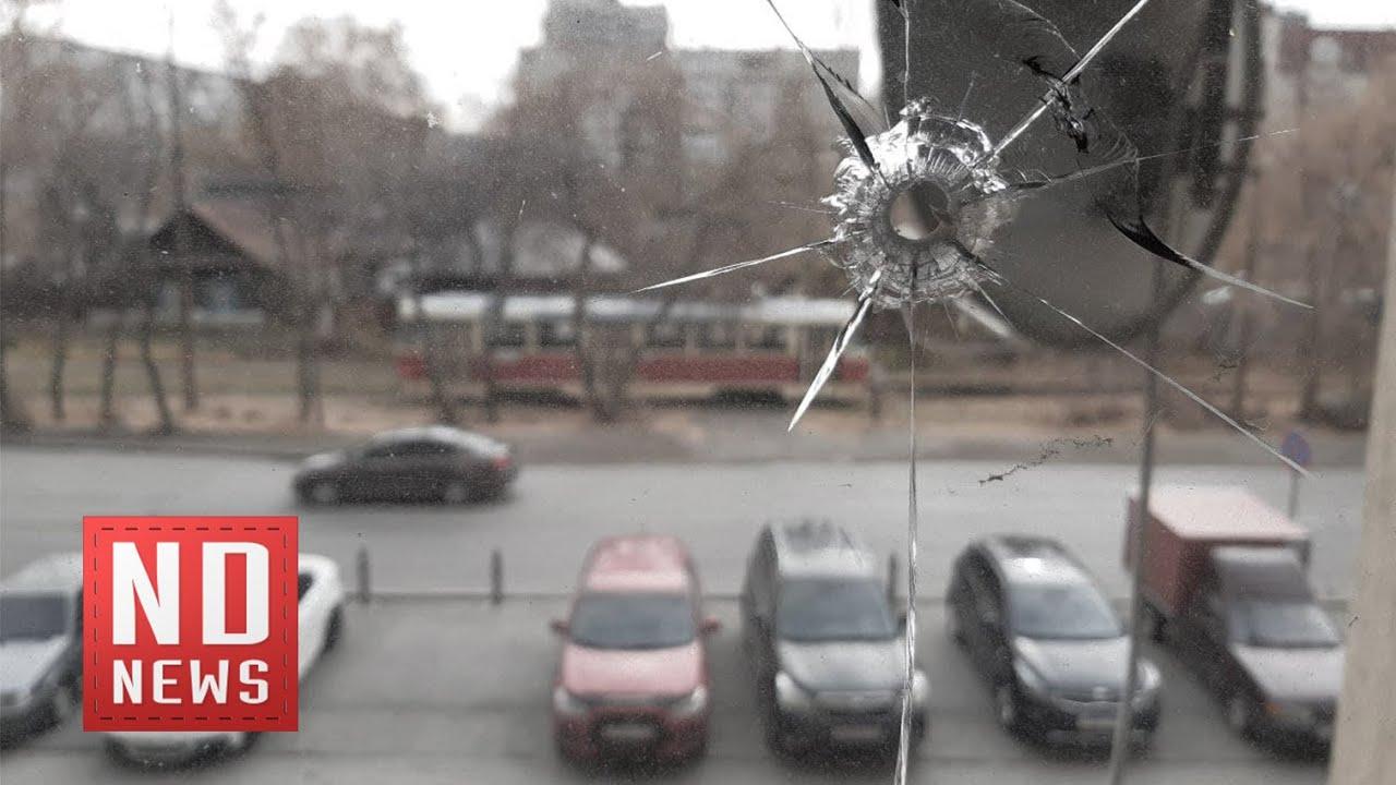 В Екатеринбурге обстреляли офис компании, строившей «Экспо»