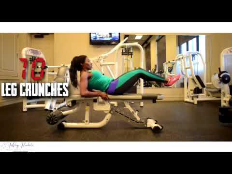 Arm, Quad, & Core Exercises With Ashley Nickole