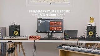 Focusrite // The Clarett 4Pre USB with Bearcubs