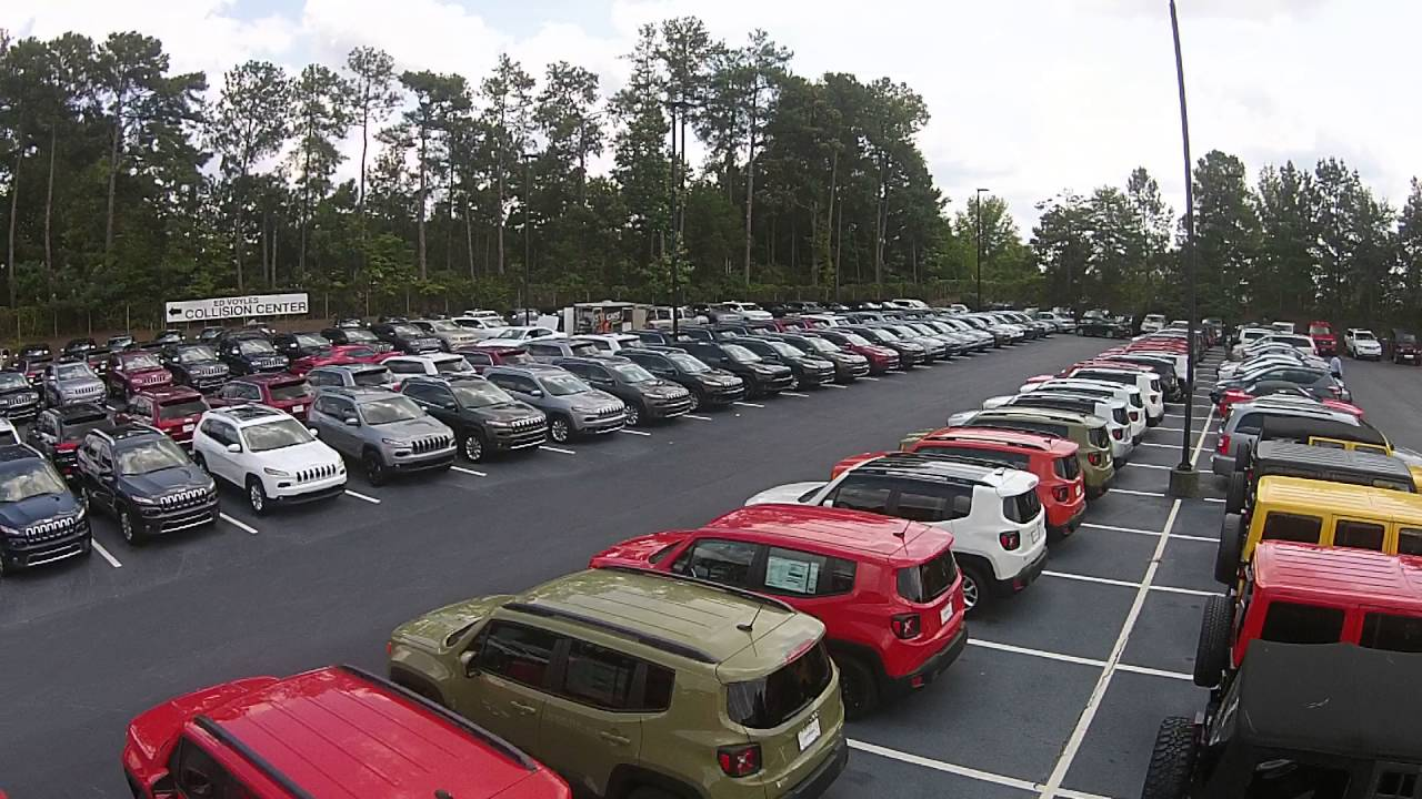 Ed Voyles Chrysler Dodge Jeep RAM Stocked Inventory - YouTube