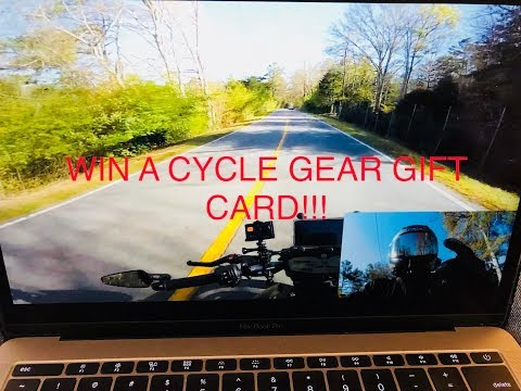 100 SUB THANK YOU GIVEAWAY - CYCLEGEAR GIFT CARD!!