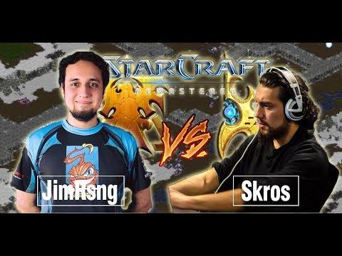 Starcraft Remastered: Jimrising vs Skros (TvP)