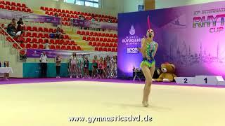 Cemre Toraman (TUR) - Junior 2005 11 - Istanbul Rhythmic Cup 2018