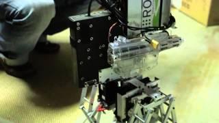 Typical Latvian robot. Made in California garage