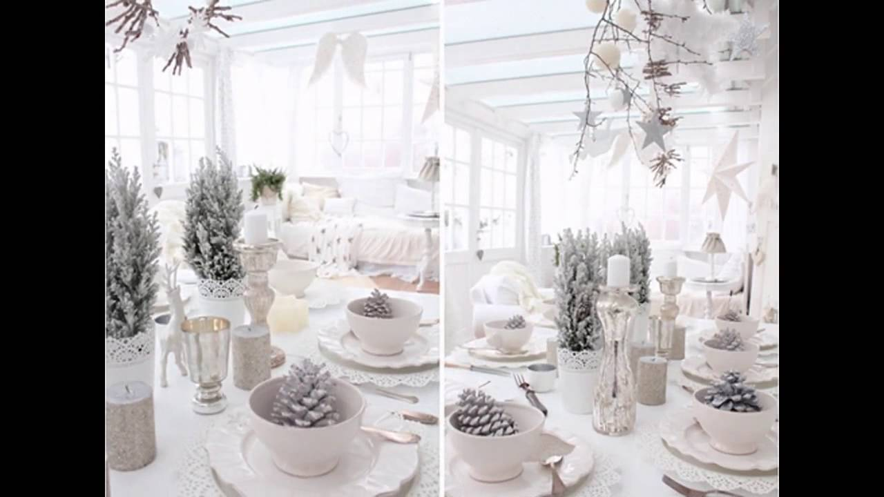 Nice Winter Wonderland Decorating Ideas For Christmas Part - 12: Ideas For Christmas Winter Wonderland Decorations