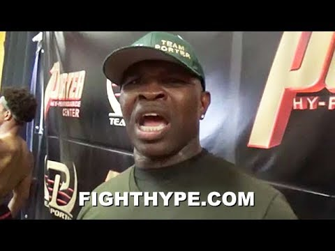 """KENNY PORTER GIVES RUTHLESS WARNING TO DANNY GARCIA; EXPLAINS WHY HE HAS A """"BULLSHIT LEFT HOOK"""""""