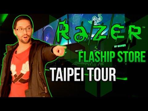 Razer Flagship Store Taipei Tour
