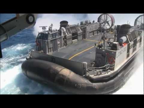 USS Green Bay (LPD 20) Video (No Audio)