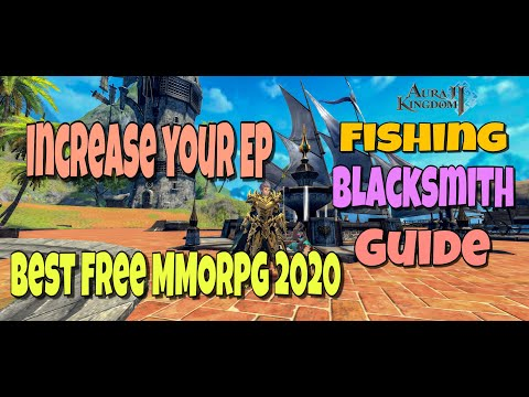 Aura Kingdom 2: Gathering Fuse Materials, Fishing Guide.