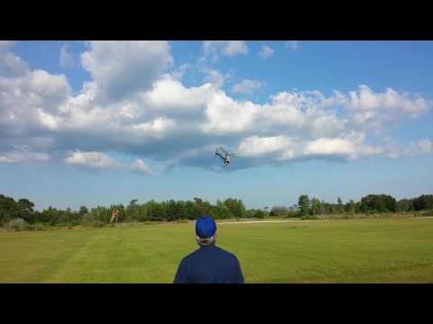 Eyal Plotnik Fly T-REX 450 at Bay City Flyers May 15th 2016