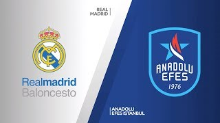 #EuroLeague 20. Hafta: Real Madrid - Anadolu Efes