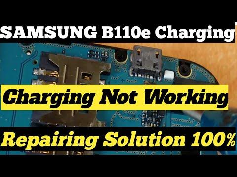 SAMSUNG B110e Charging Problem Ways Jumper Solution