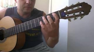 Уроки гитары.Запрещённые барабанщики-Планета обезьян.Вступление