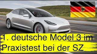 #92 1. deutsches Tesla Model 3 im Test