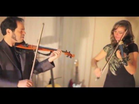 """""""Whistle""""  Flo Rida cover Duo Violin & Viola HD Cover"""